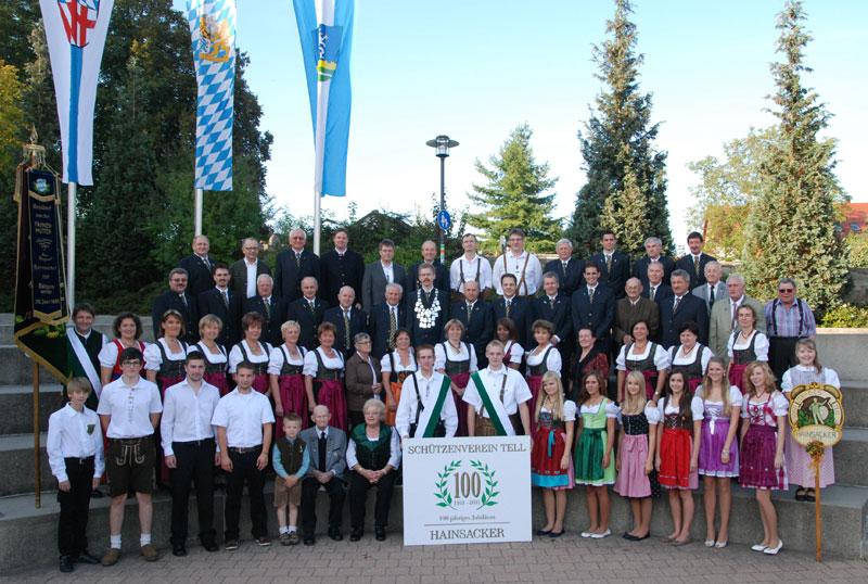 TELL Schuetzen Hainsacker 100 Jahre 2011